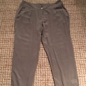 246633e15ff505 Poetry Pants - Poetry 100% Silk Lightweight Pants - NEW